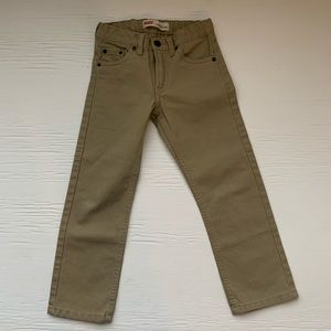 Levi's jeans slim straight size 6 adjustable